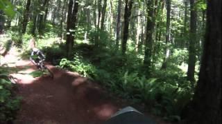 Ride along at Black Rock Mountain in Falls City Oregon