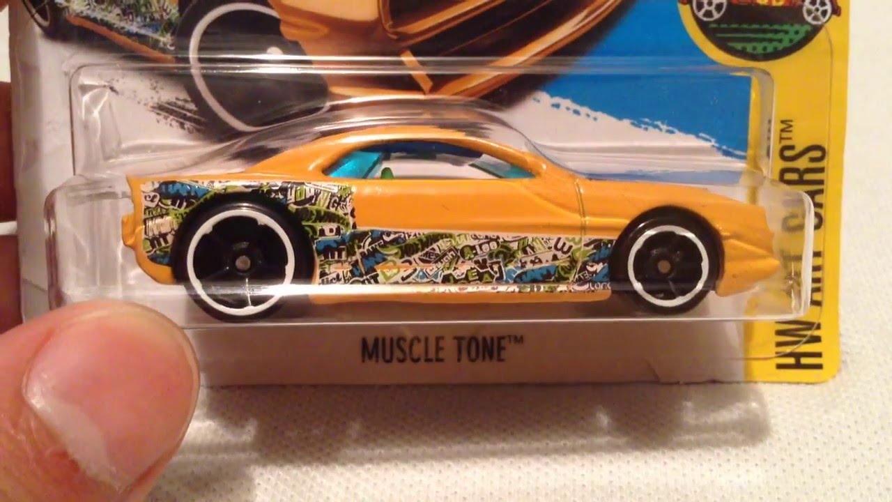 Hot Wheels Muscle Tone Hw Art Cars Youtube