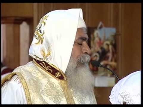 """القداس الإلهي .."""" القديسة العذراء مريم والأنبا شنوده رئيس المتوحدين بمدينة السلام """""""
