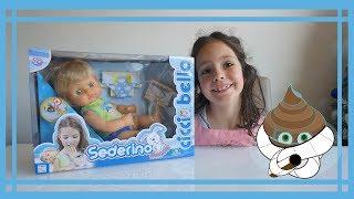 Oggi Greta giocherà con il nuovissimo CICCIOBELLO SEDERINO ROSSO!!!...