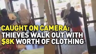 Brazen Thieves Casually Walk Out With $8,000 Worth of Clothing at Vacaville Premium Outlets