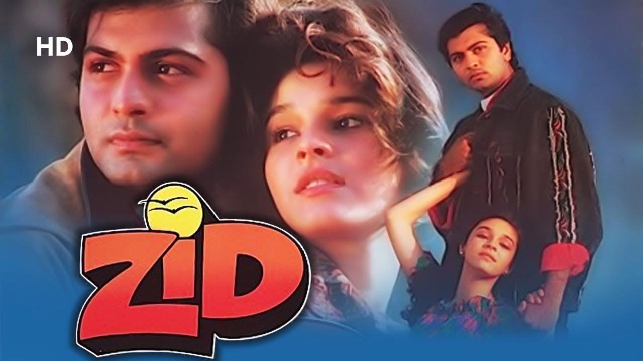 Download Zid (1994) | Jay Mehta | Raageshwari | Mala Sinha | Bollywood Romance Movie