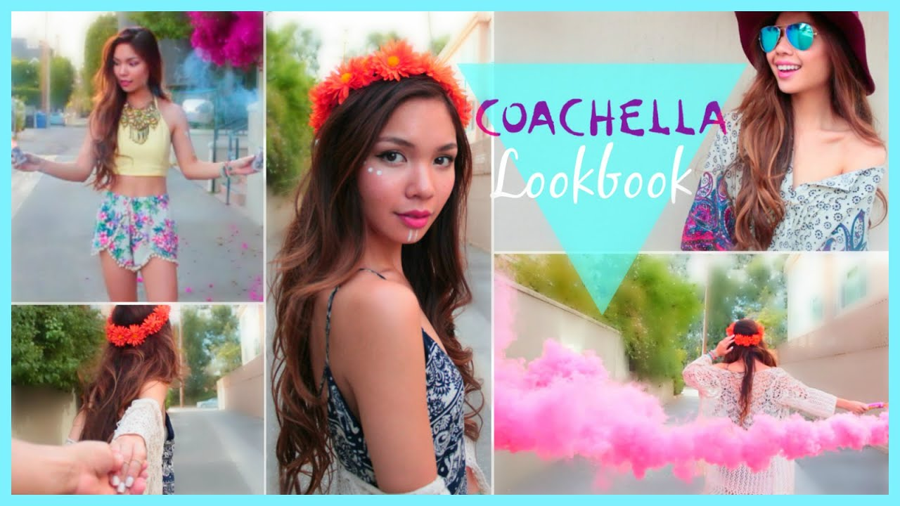 Coachella Music Festival Outfits Inspiration/LookBook ...