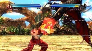 Tekken Tag Tournament 2 Wii U Gameplay Frame-Rate Tests