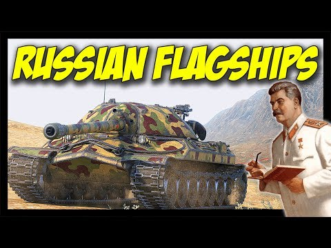 ► Soviet Russia Flagships!- World of Tanks IS-4 and IS-7 Gameplay