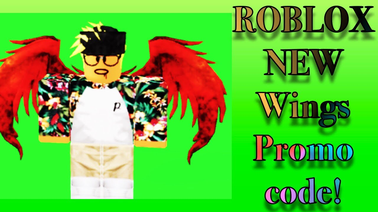 Roblox Codes For Wings 2019 Roblox New Wings Promo Code 2020 Working Youtube