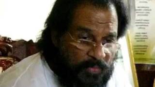Boolokam Online video news cast - SRI. K J Yesudas on non-violance , god, Indian music-  Part 2