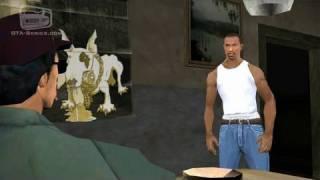 GTA San Andreas - Walkthrough - Mission #2 - Ryder (HD)