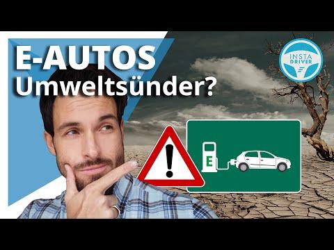 Wie umweltschädlich sind Elektroautos?    Die Wahrheit über die CO2 Bilanz eines E-Autos