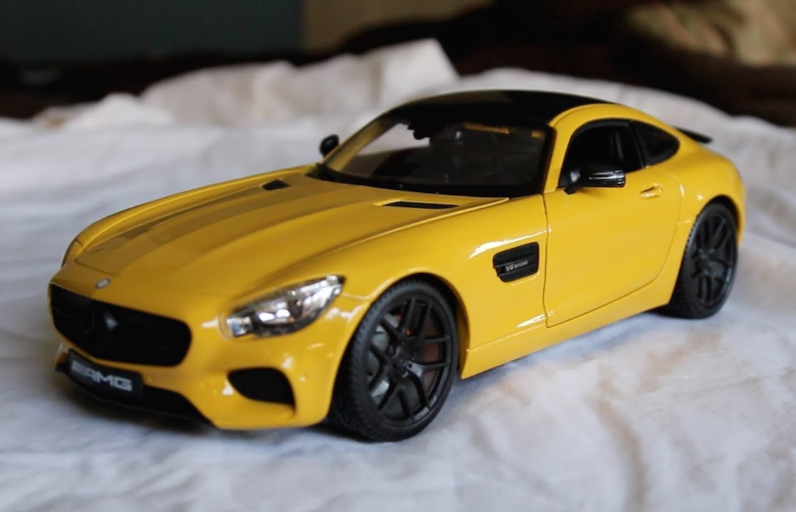 Review   1:18 Scale Maisto Mercedes AMG GT S   YouTube