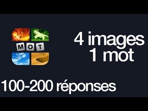 4 images 1 mot r ponses 100 200 youtube. Black Bedroom Furniture Sets. Home Design Ideas