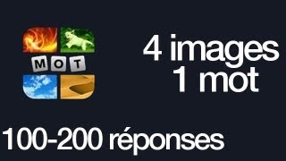 Repeat youtube video 4 Images 1 Mot Réponses 100-200