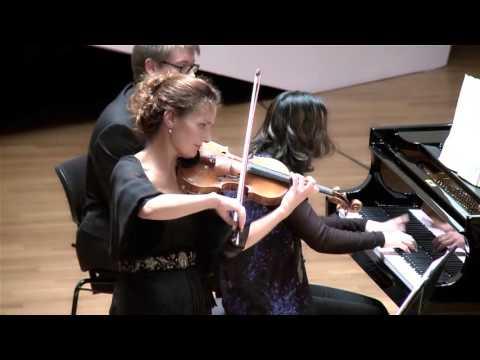 "Beethoven Violin Sonata n°9 Op.47 ""Kreutzer"" (Sandrine Cantoreggi violin - Connie Shih piano) 3/3"