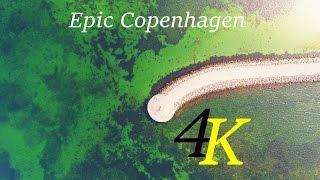 Dji phantom 4 pro drone Copenhagen-Amager Strand,Hellerup 4K Epic Footage!!!