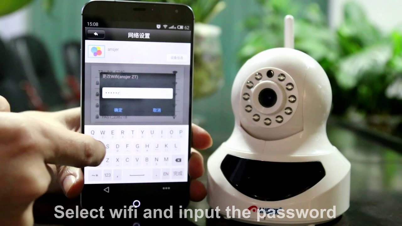 ZOSI 720P HD Wifi IP Camera Instruction