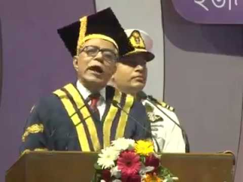 Honorable President of Bangladesh, Md. Abdul Hamid, Funny Speech, DU Convocation