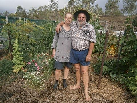 fnq regional seedsavers meet at organic garden/reveg project at mt molloy