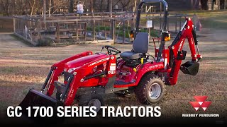 Massey Ferguson GC1700 Series Overview and Features