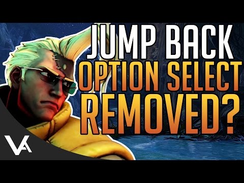 SFV - Jump Back Tech Option Select Changes Explained In Detail For The Street Fighter 5 Update