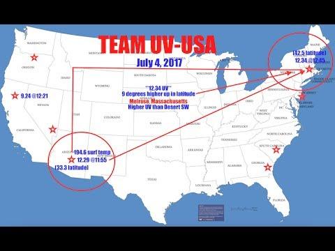 "Extreme UV in Massachusetts - ""Full Throttle on 4th of July"" - Team UV High in MA!"