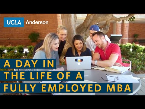 A Day in the Life of a Fully Employed MBA