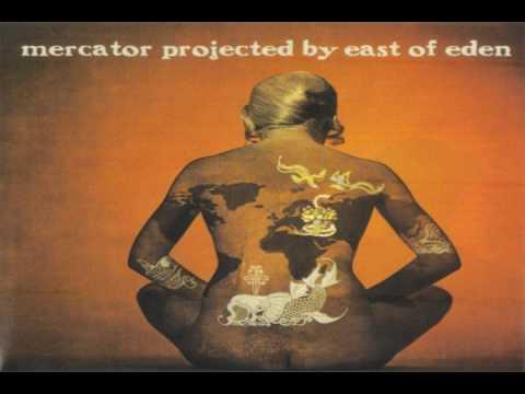 EAST OF EDEN Mercator Projected 1 Northern Hemisphere