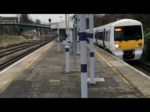 Southeastern Trains at St Johns on January 19th 2019