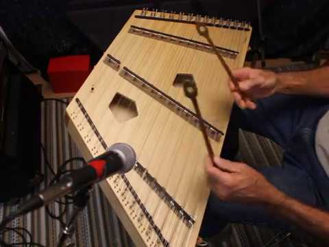 Two tunes on Chickadee Chromatic Hammered Dulcimer-Songbird Dulcimers