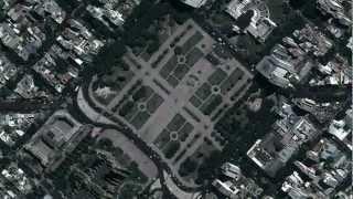 Google Maps zoom sobre La Plata, Argentina (HD) Free HD Video