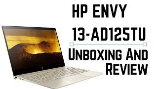 HP Envy 13-ad125TU Unboxing and Review