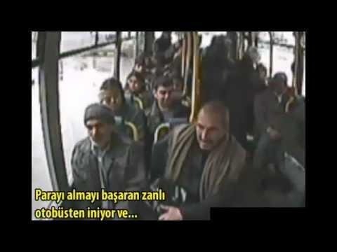 Halk Otobüsünde Yankesicilik!