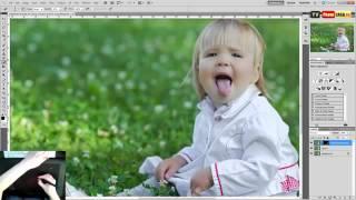 Урок Художественная обработка детской фотографии в Photoshop Уроки Фотошопа