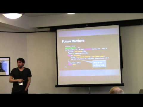 Modern C++ as Concurrent Assembly