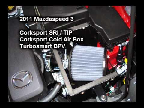 Mazda Speed 3 >> Mazdaspeed 3 - Corksport SRI/TIP - YouTube