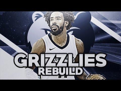 REBUILDING THE MEMPHIS GRIZZLIES! NBA 2K18 MY LEAGUE