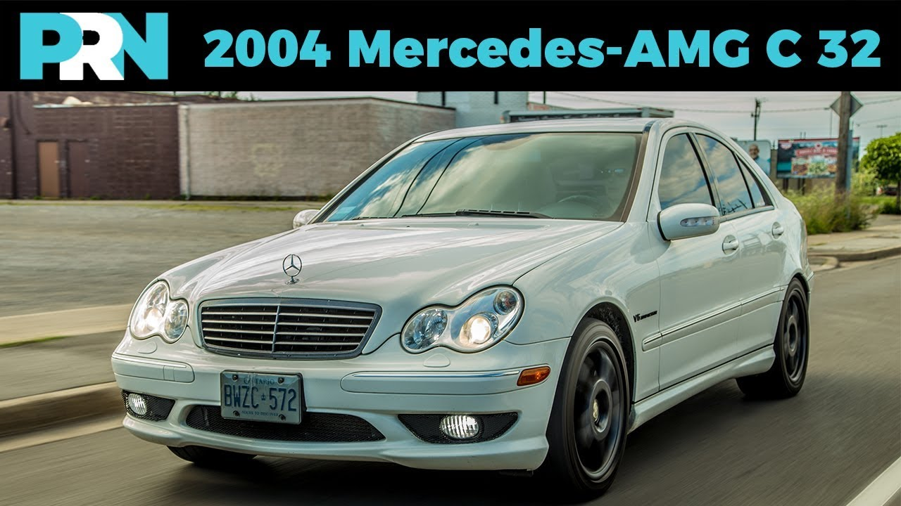 2004 mercedes benz c32 amg w203 testdrive spotlight youtube. Black Bedroom Furniture Sets. Home Design Ideas