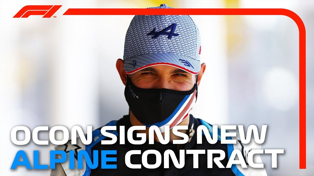 Esteban Ocon Re-Signs With Alpine! His Story So Far...