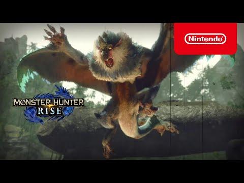 MONSTER HUNTER RISE – Tráiler de The Game Awards 2020 (Nintendo Switch)