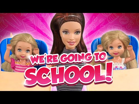 Barbie - We Want to Go to School! | Ep.215