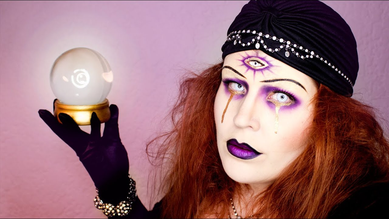 Fortune Teller Halloween Makeup