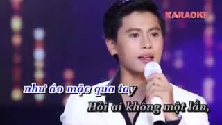 Bội Bạc - Karaoke - Nguyễn Thành Viên