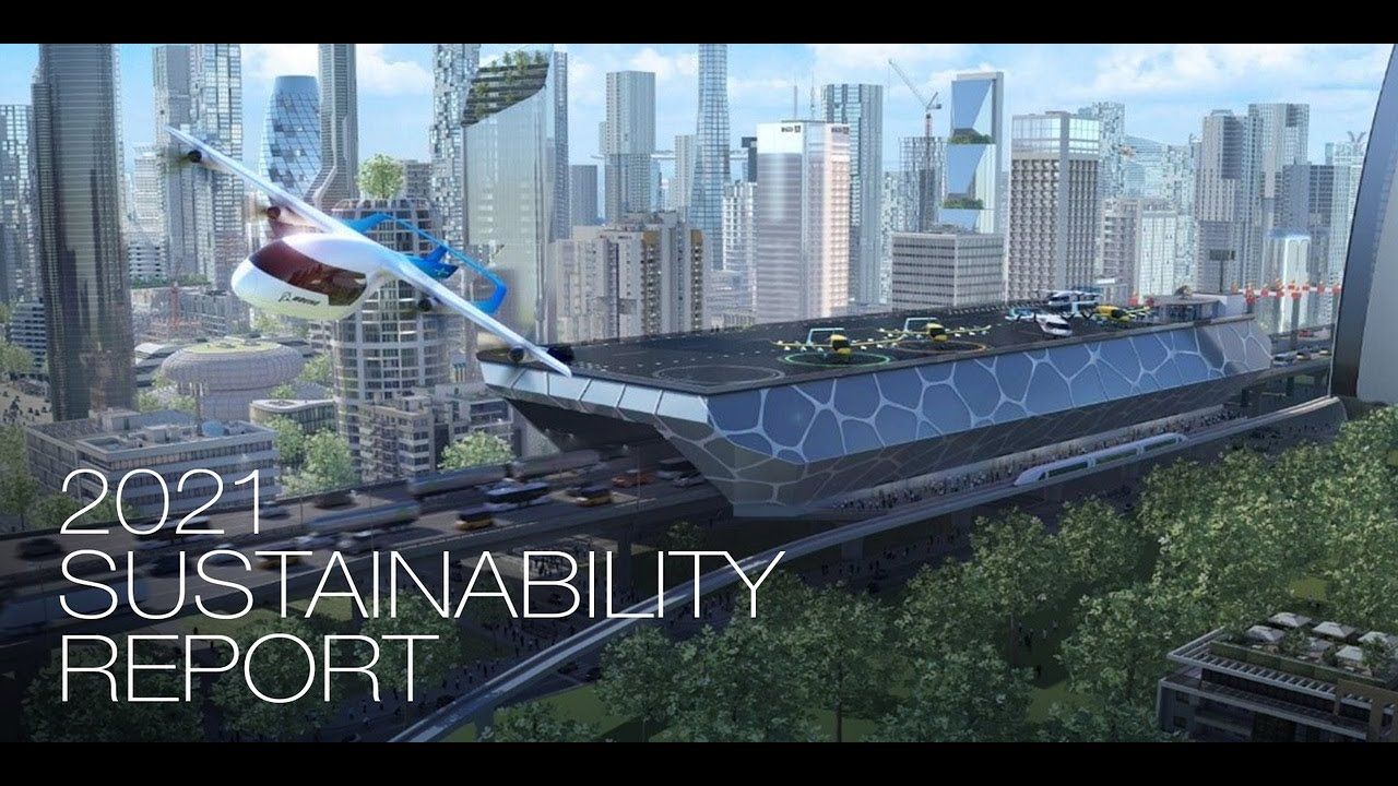 Boeing's Path to Sustainable Aerospace