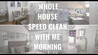 Ultimate Speed Clean With Me  Whole House Morning Routine Toni Interior