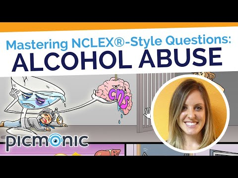 Mastering NCLEX®-Style Questions: Alcohol Abuse