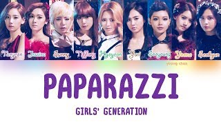 Cover images Girls' Generation (少女時代) – PAPARAZZI Lyrics (KAN/ROM/ENG)