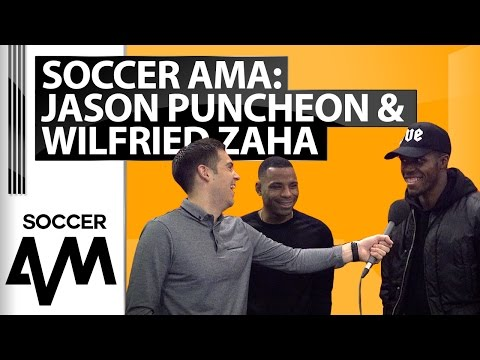 Jason Puncheon & Wilfried Zaha Soccer AMA - 'Which of you is better?'
