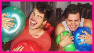 BALLOON POP CHALLENGE!