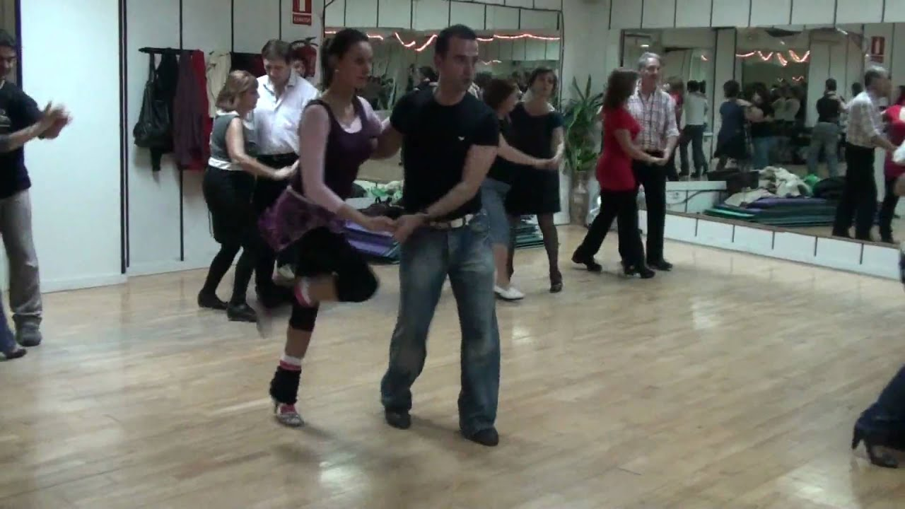 Bailes De Salon Rock And Roll Clases De Baile De Salon En Madrid Rock And Roll Secuencia 1