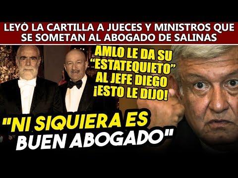 Obrador se despachó al Jefe Diego, no quiere que Salinas siga controlando a jueces