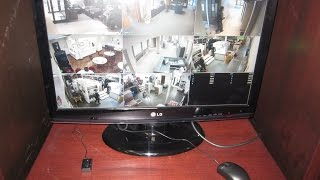 HD Security Camera System Installed in Warehouse